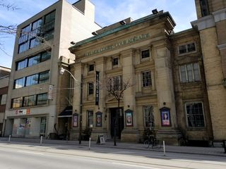 """The Adelaide Court House, looking much the same on the outside as it did when it appeared in """"Plays"""". The photo above is the same angle as the establishing shot onToday's Special."""