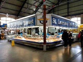St. Lawrence Fish Market, where Sam and Muffy picked up the octopus.