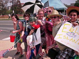 NSM Counter-Protest, April 19, 2008