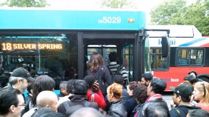 Metro train fire, May 14, 2013