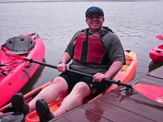 Kayaking trip, August 18, 2013