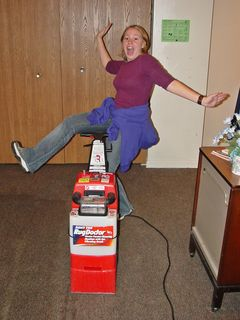 Carpet cleaning in Pittsburgh, October 18, 2003