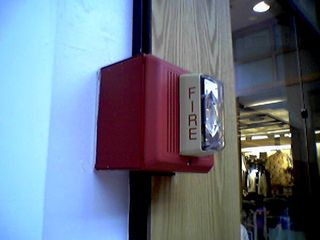 And there you are - Edwards fire alarm horn/strobes. This was the way I knew I was spot on this time.