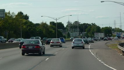 In Richmond, traffic became thicker, especially in the section that's multiplexed with I-95.