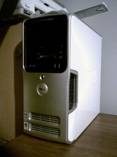 And here it is! This is my new Dell Dimension E521.