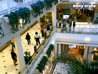 On June 29, I went down to Pentagon City after work. June 29 was also the day the iPhone was released. Even into the evening, the Apple store was packed, and there were lines of people waiting to get in, with mall rent-a-cops and real police making sure the store wasn't overwhelmed.