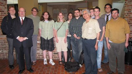 On June 6, I met up with my fellow DC-area Wikipedians, where we went to dinner at Bertucci's in Foggy Bottom. That was a particularly fun meetup.