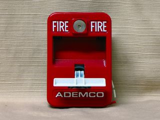 Ademco 5140MPS-2, handle down