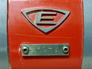 Edwards 1251-0, number plate