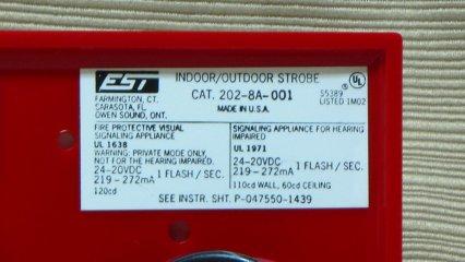 Edwards 202-8A-001, label