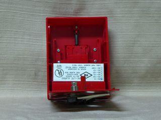 Fire-Lite BG-10, inside of station front