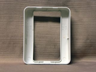 Gentex GEC24-75WW, back plate cover, inside