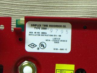 Simplex 2099-9795, label