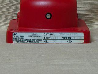 Simplex 2901-9332, label