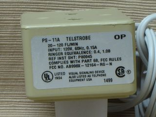 Wheelock PS-11A, label