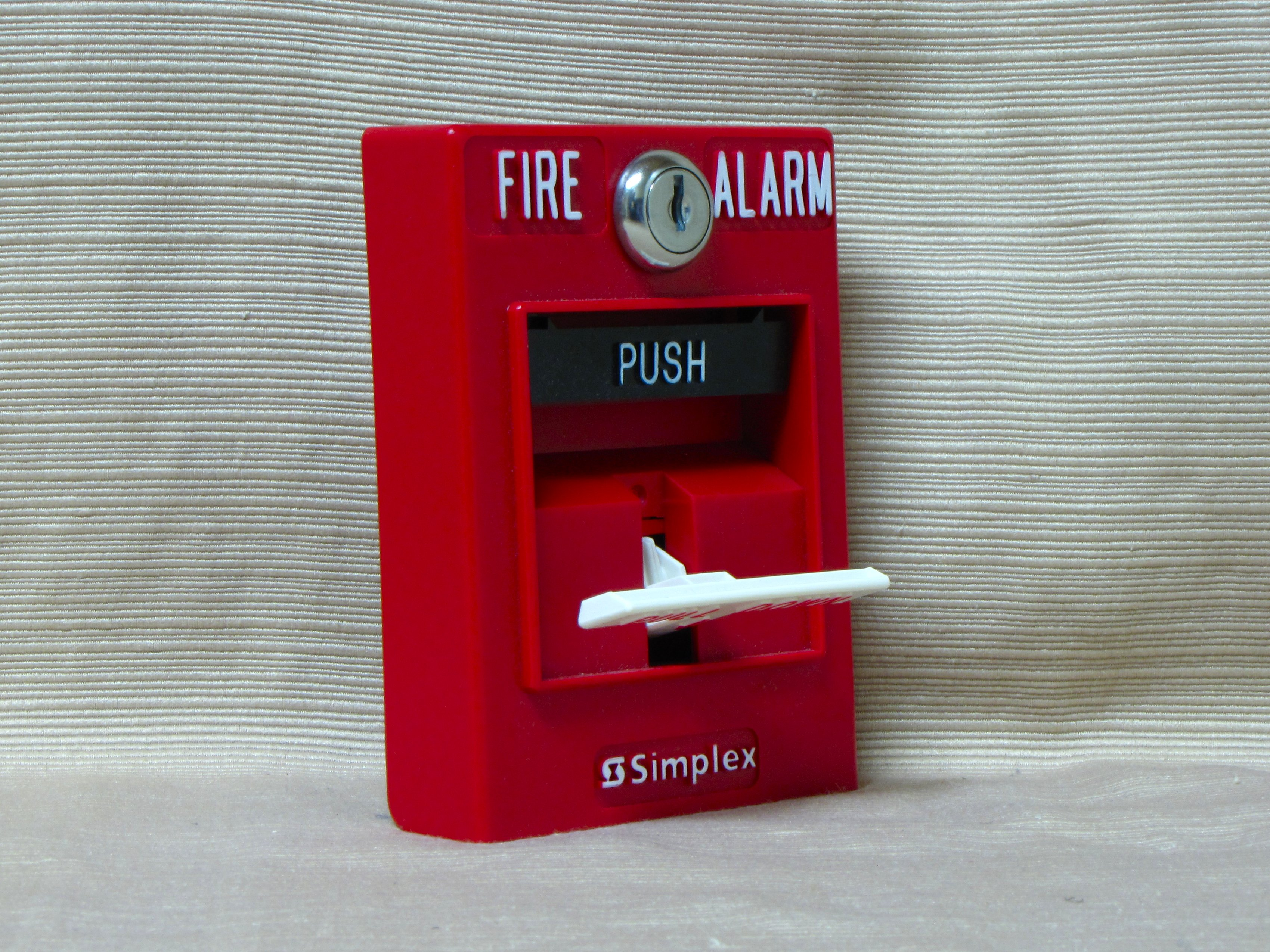 Fire Alarm Pull Station Simplex Sounder With Flasher Wiring Diagram The Schumin Web 2099 9756