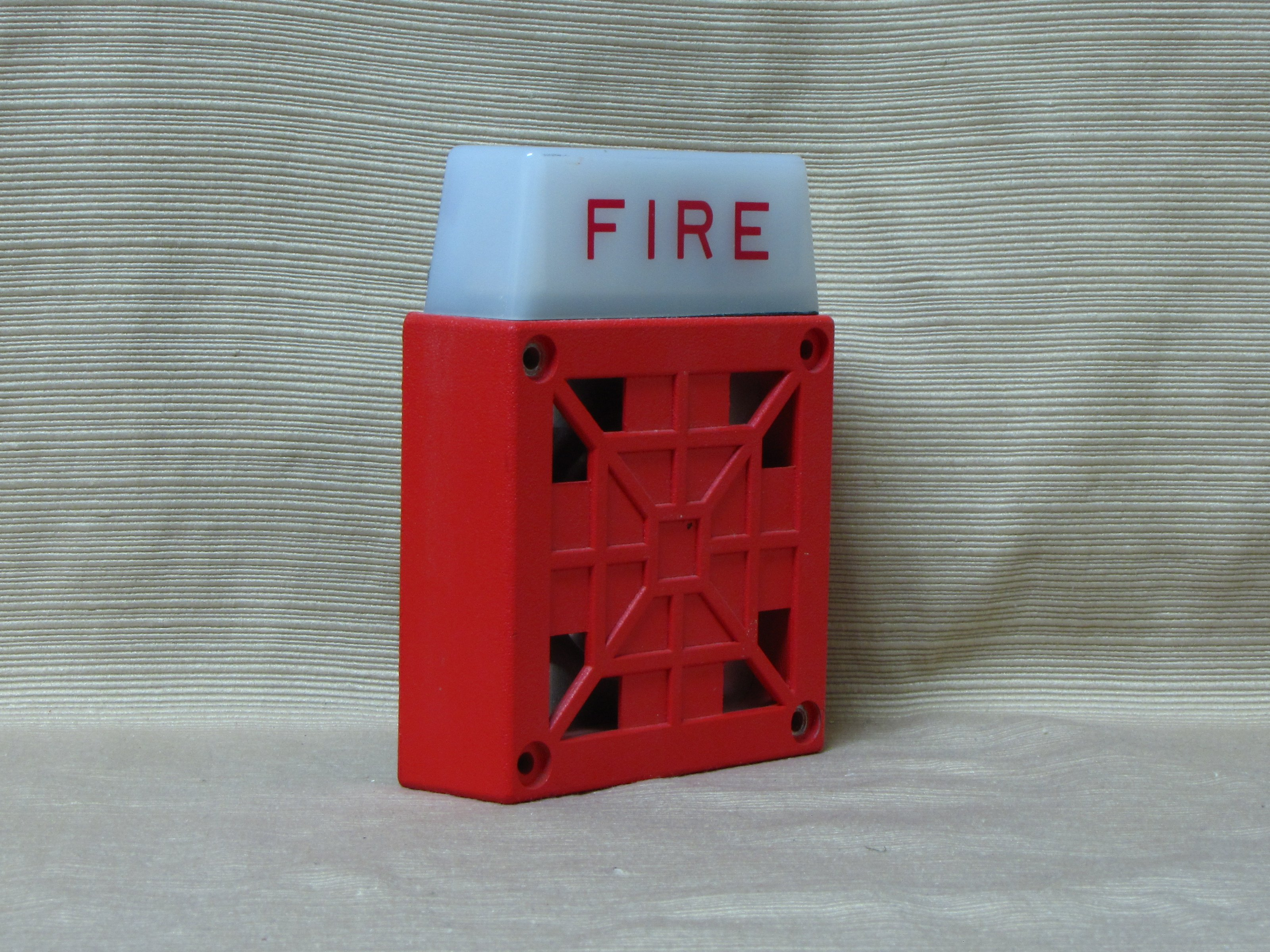 The Schumin Web » New fire alarms at work… again…  |Wheelock Fire Alarm Horn Strobe