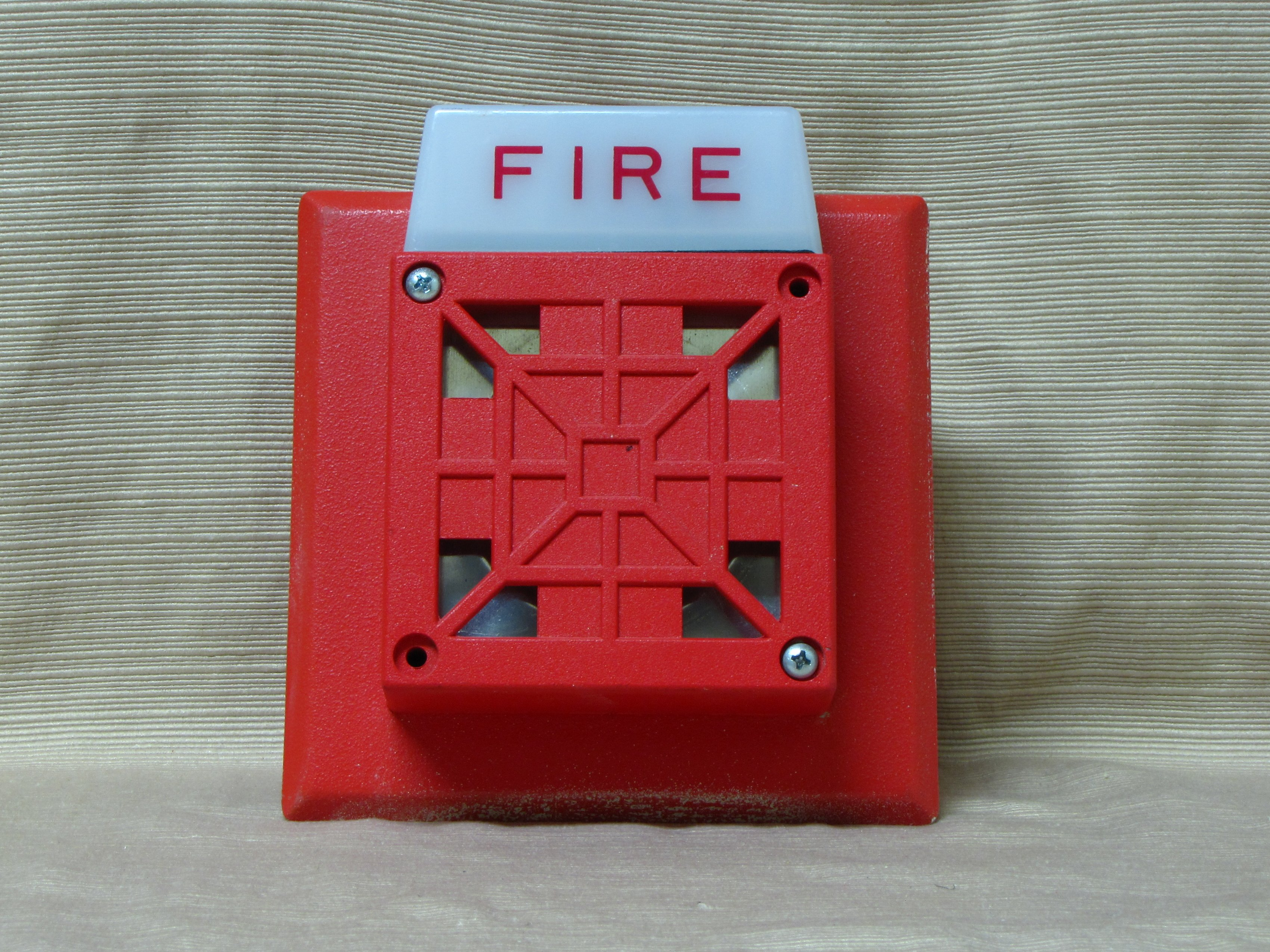 Wheelock AS-24110W Fire Alarm Horn Strobe | eBay  |Wheelock Fire Alarm Horn Strobe