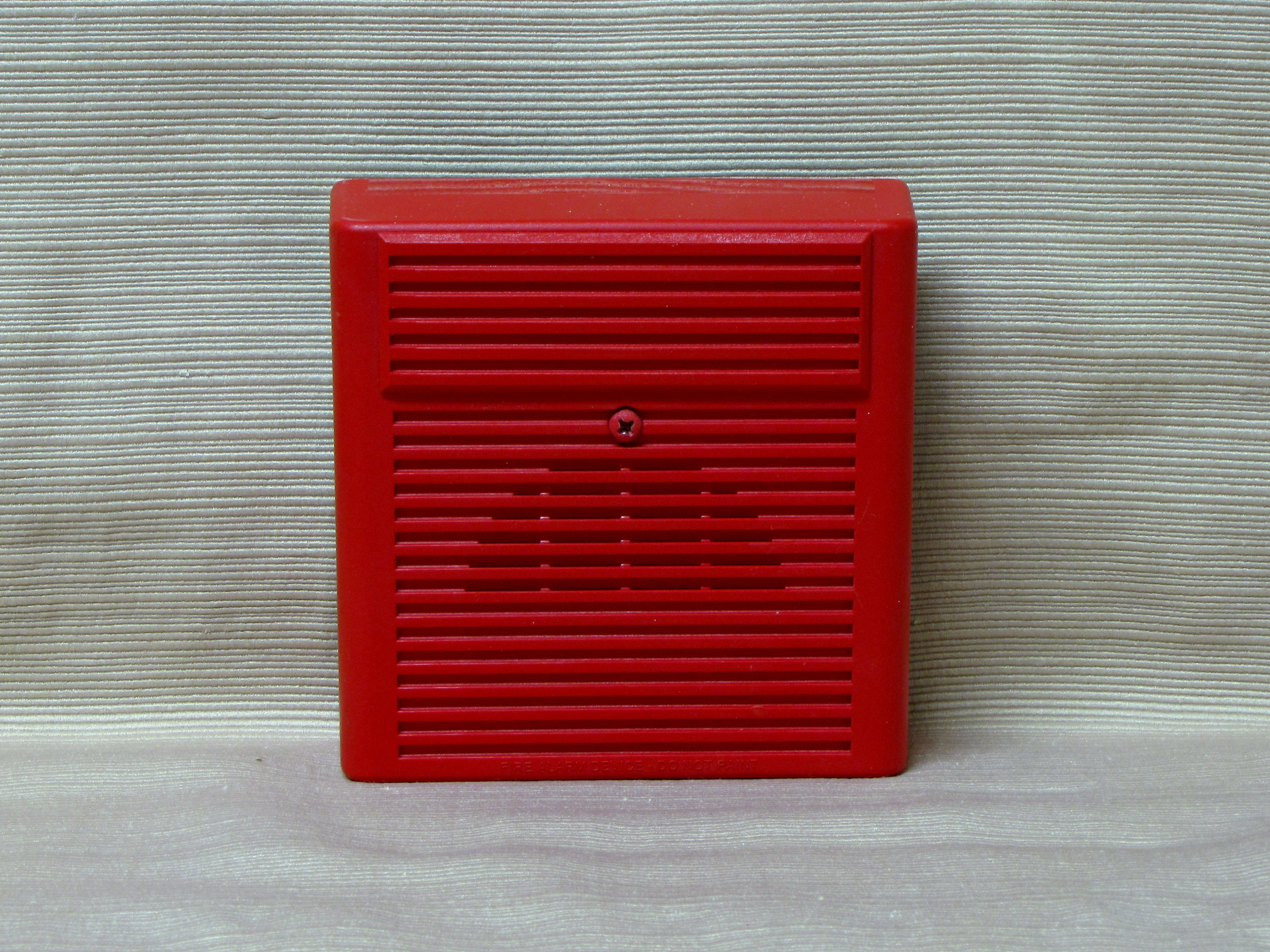 The Schumin Web » New fire alarms at work…  |Wheelock Fire Alarm Horn Strobe