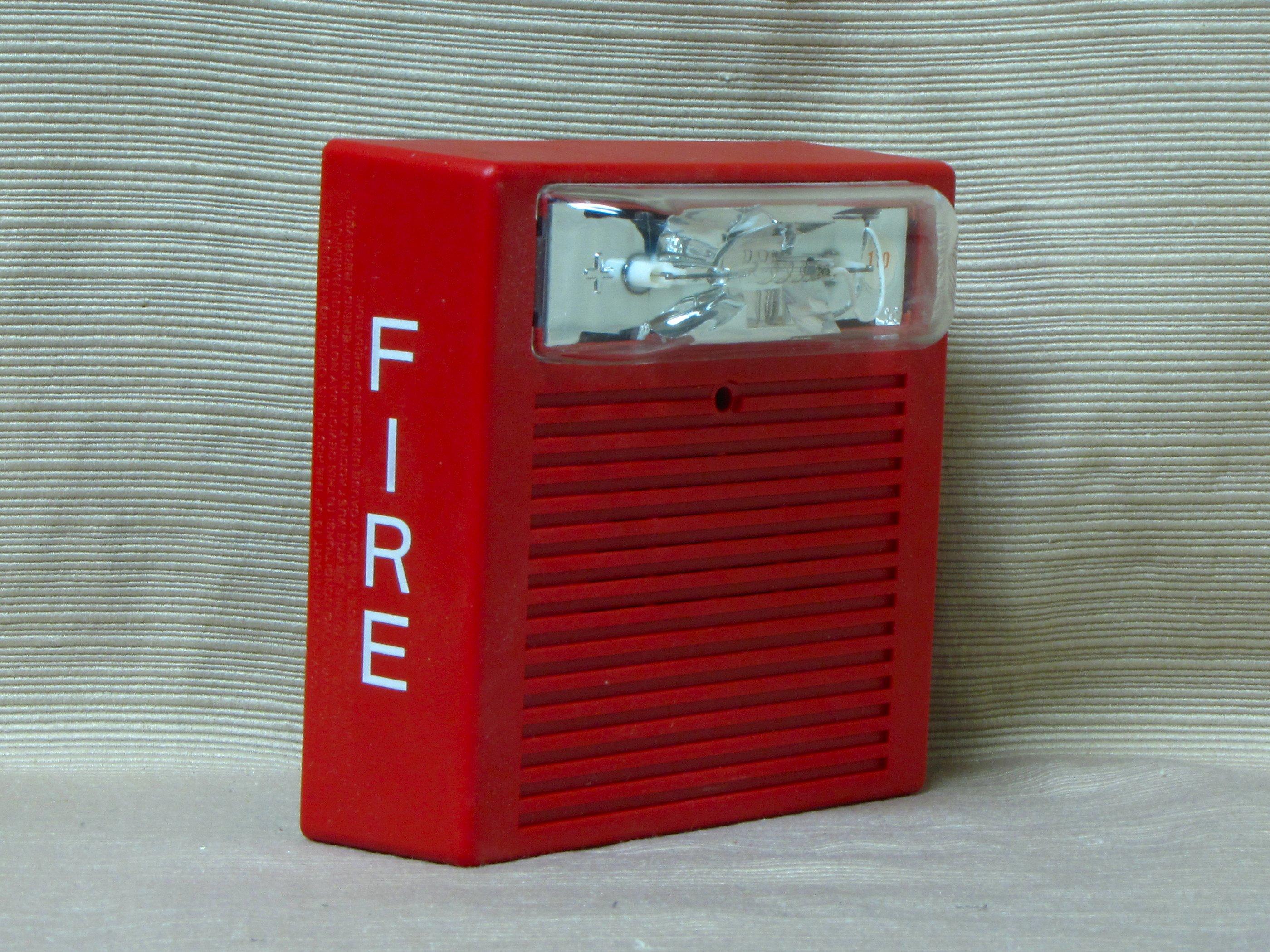 The Schumin Web » Wheelock MT-24-LSM  |Wheelock Fire Alarm Horn Strobe