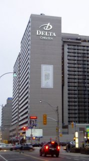 The Delta Chelsea Hotel, where we stayed during our time in Toronto.