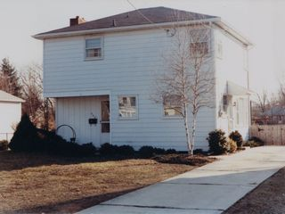Our house in Glassboro, New Jersey, at 304 Cornell Road. Compare this, as we knew it in the 1980s, to how it looked in 2009.