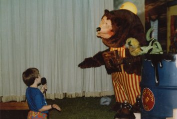 One of the things I will never forget about my childhood was at my sixth birthday party when I got to talk to Billy Bob, Showbiz Pizza's mascot at the time.