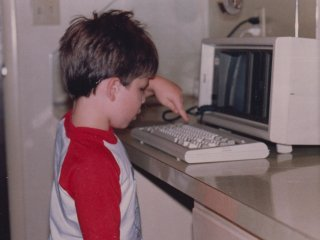 One of the fun times as a child was when Dad brought a Compaq Portable home from work. When he didn't need it, I got to use it, and use it I did. With no actual games (we didn't yet own a computer and this was a computer for business), I was allowed to play with a blank spreadsheet on Lotus 1-2-3. And in the hands of a child, a blank spreadsheet is a lot of fun, as I entertained myself for hours with that.