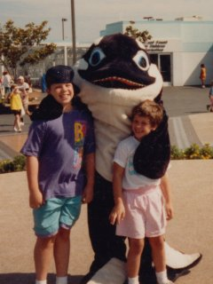 No trip to Sea World is complete without a visit from Shamu the whale...