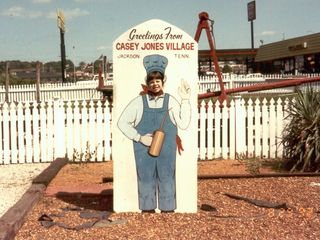 When we moved from Rogers, Arkansas to Stuarts Draft, Virginia in August 1992, we traveled by car over three days. We spent the first night in Jackson, Tennessee. When we arrived, we visited the house of Casey Jones, which was located on the property next to our hotel.