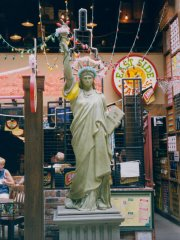 The Statue of Liberty at East Side Mario's in the Toronto Eaton Centre