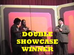 """Laurel, the actual retail price of your showcase is... $26,017, a difference of... $117, you win both showcases!"""