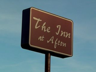The Inn at Afton was built in 1968 according to property assessment records, and was a Holiday Inn until the mid-1990s. The motel has an access road from US 250 that is separate from all the other businesses. Additionally, the Inn at Afton is the only business visible from Interstate 64, which certainly contributes to its staying in business.