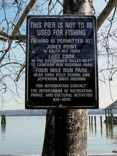 One point to note... no fishing, please!