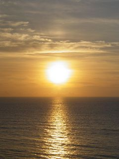The sun continues to get higher and higher in the sky, casting its warm glow across the Atlantic Ocean.