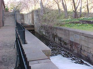 However, the circuitousness of the walk did afford us a view of the old lock system. Nowadays, these locks are bypassed entirely, and the water is pumped from one end to the other.