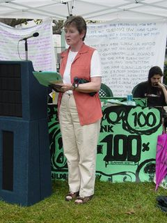 Speakers spoke on a number of issues relating to third world debt and the policies of the World Bank and IMF. Some led parts of the written program, while others gave short speeches.
