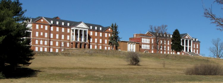 East side of the DeJarnette Center for Human Development, February 19, 2011