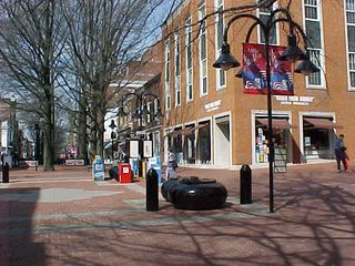 Welcome to historic downtown Charlottesville!