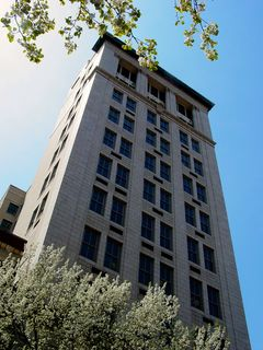 The Bank of America Building is an 11-story high rise building, completed in 1913.