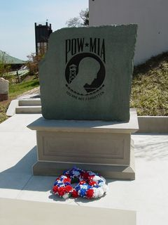 A memorial for prisoners of war and those missing in action...