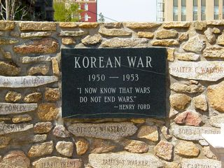 The Korean War...