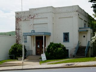 Waynesboro's local newspaper, The News Virginian, was produced and printed here for many years at the top of the downtown area, before printing operations moved to Charlottesville, and offices moved up the road to the former Hassett's building across from Waynesboro High School.