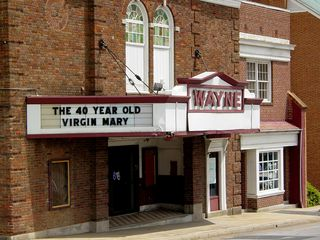 The Wayne Theatre first opened in 1926 as Waynesboro's first vaudeville and silent movie theatre. When we moved to the area in 1992, the building was in service as the Wayne Cinemas, a two-screen movie theatre.