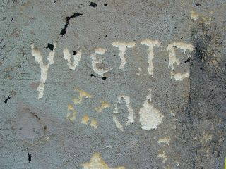 Unfortunately, graffiti was rampant, as many sought to leave their mark on the site.