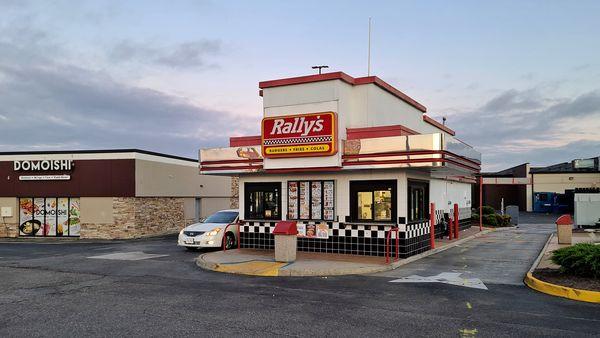 Rally's restaurant on Denbigh Boulevard in Newport News, Virginia.