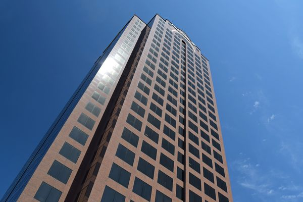 The Dominion Tower, now home to offices for Bank of America.