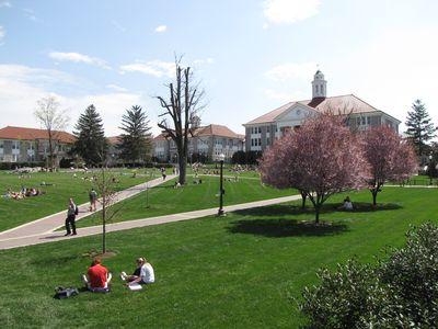 The Quad at James Madison University