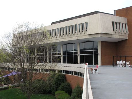 Warren Hall, constructed in the 1960s, is one of four buildings that comprise the University Center.