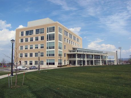 The new East Campus Library.